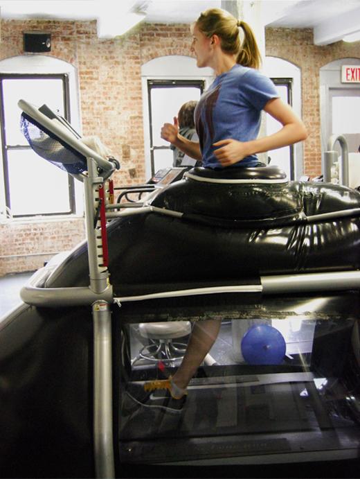 Alter-G Treadmill Erica Chapman Running Rehab