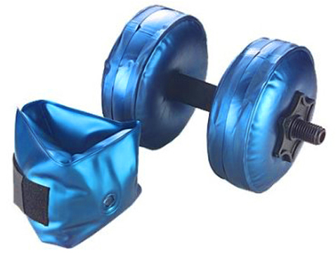 AquaBells Travel Weights water inflatable packable