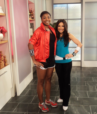 Bianca Jade MizzFIT NBC Today Show Tyra Wallace fitness fashioin