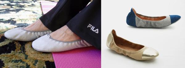 Blake Brody in-studio footwear pilates slipper