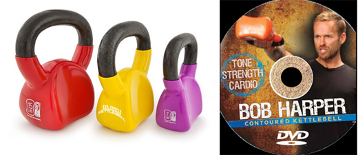 Bob Harper Contour Kettlebell product fitness review mizzFIT