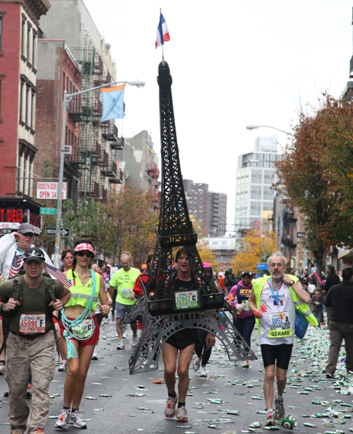 eiffel tower marathon new york costume