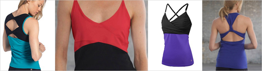 Fila yoga tank tops