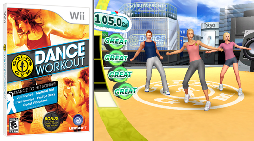 Gold's Gym Dance Workout video game