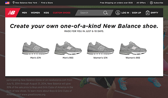 new balance web