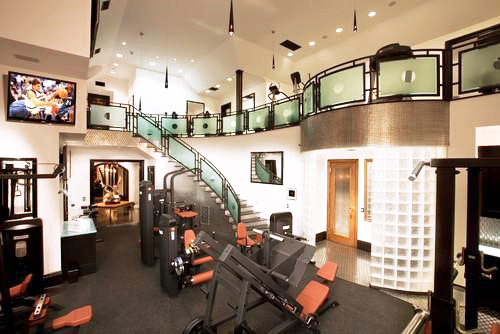 Fancy home gyms get ideas to build your own mizzfit