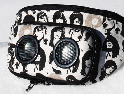 Jammy Pack music speakers fanny pack roller skating mizzfit