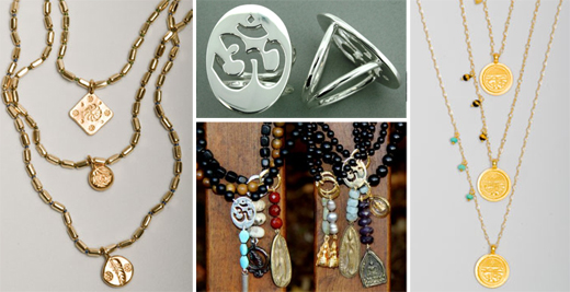 yoga inspired jewelry
