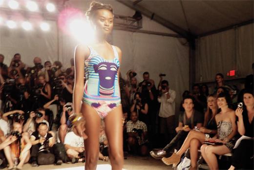 Mara Hoffman fashion show mizzfit