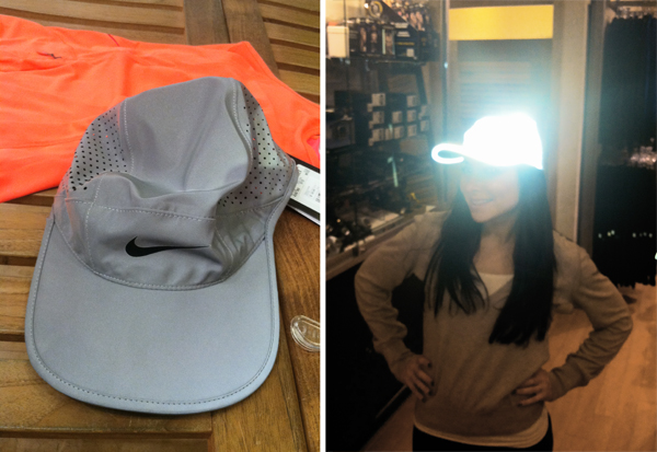 nike reflective run hat
