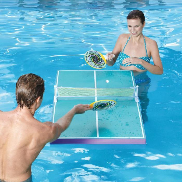 swim ping pong pool
