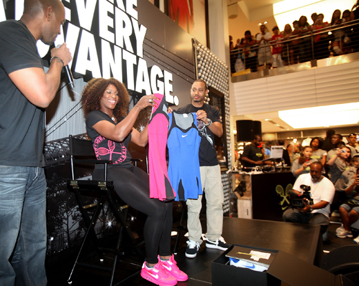 Serena Williams Niketown Tennis Dress