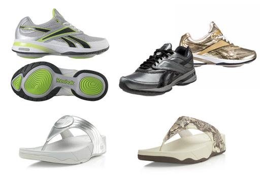 Stylist Toning Shoes Reebok EasyTone FitFlop