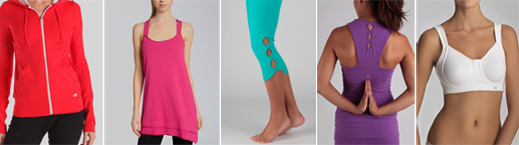 Teleyoga fitness wear couture favorites