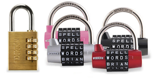 Word lock gym locker