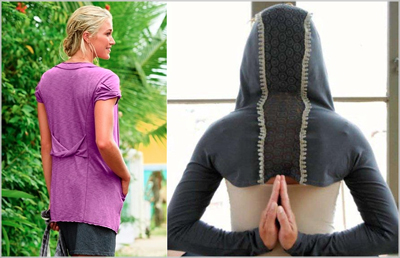 yoga wear cover-ups