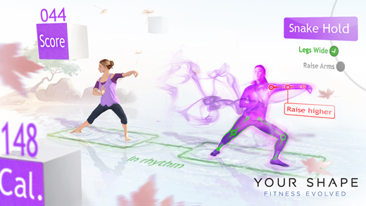Your Shape Fitness Evolved yoga class