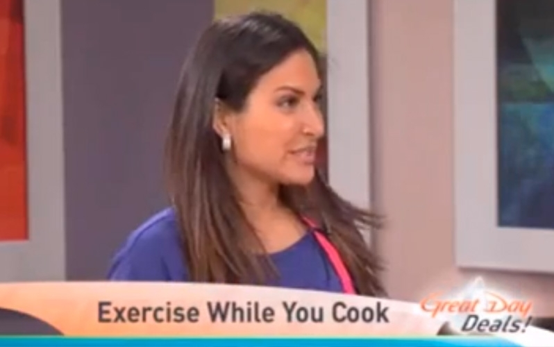 mizzfit thanksgiving exercise cook workout while