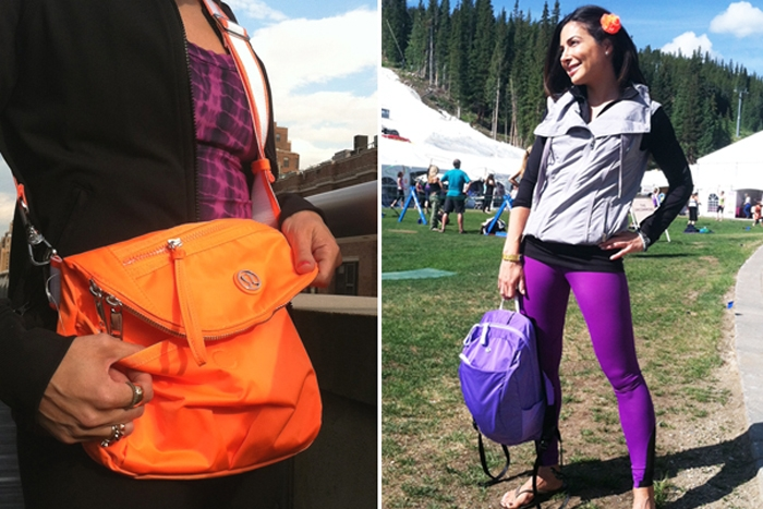 the wrong bag quickly becomes an unwearable burden at a festival where ...
