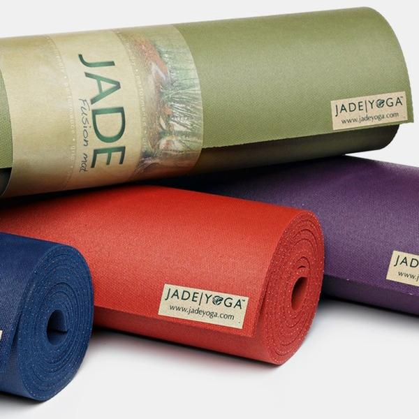 Stick To Jade Yoga's Extra Cushion-y Original Fusion Mat