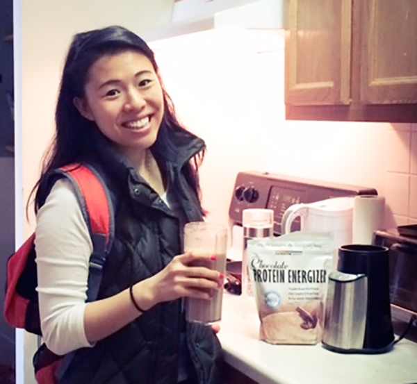 Katia lin winner of my rainbow light protein energizer giveaway just