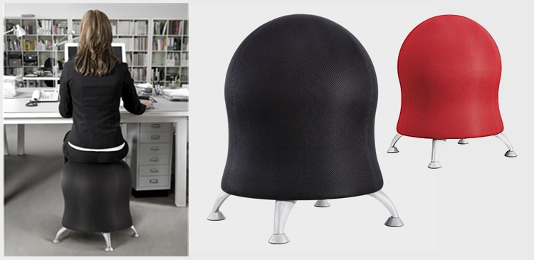 is your desk chair a fit chair probably not but the zenergy ball chair