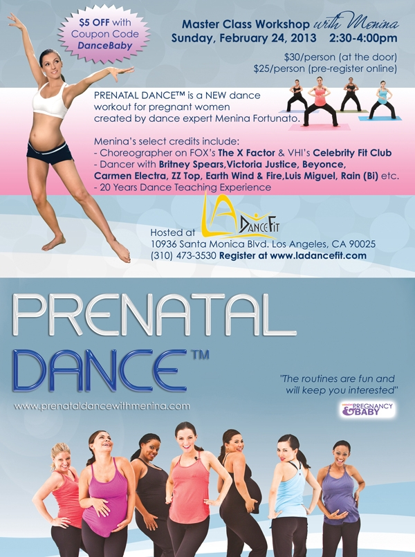 prenatal dance workshop santa monica ca