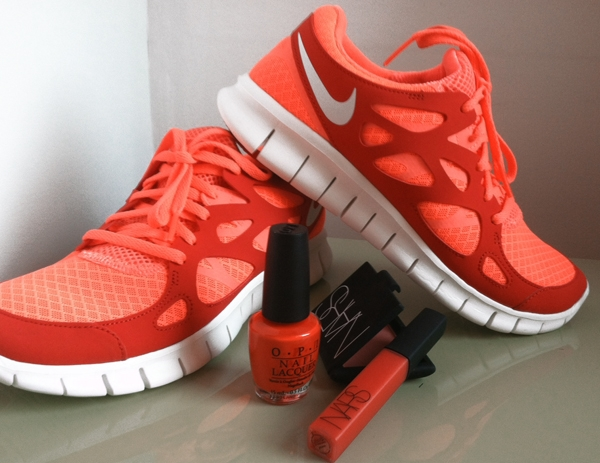 18b377d841fe Color Your Fitness   Beauty Routine Tangerine