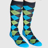 mizzfit socks compression argyle zensah