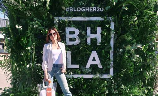 Bianca Jade attends BlogHER 2020 in downtown Los Angeles.