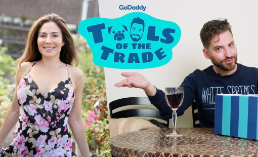 Bianca Jade's feature on Tools of the Trade with GoDaddy