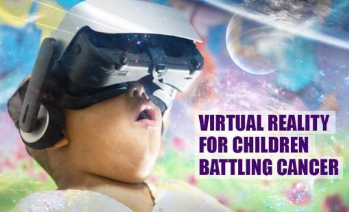 Virtual Reality For Children Battling Cancer